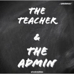 The teacher and the admin