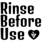 Rinse Before Use